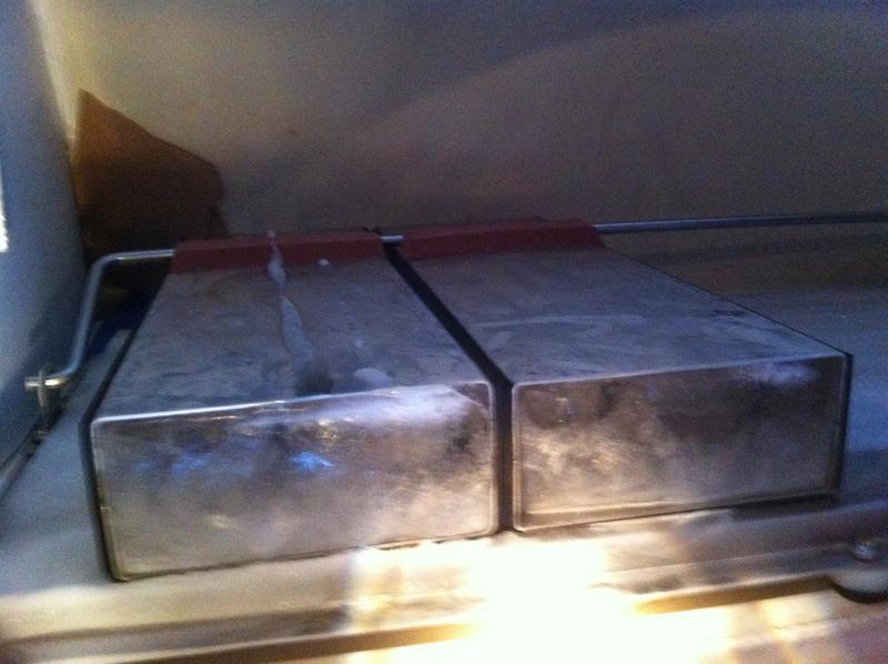 Crealock 37 Icebox questions-first-ice.jpg