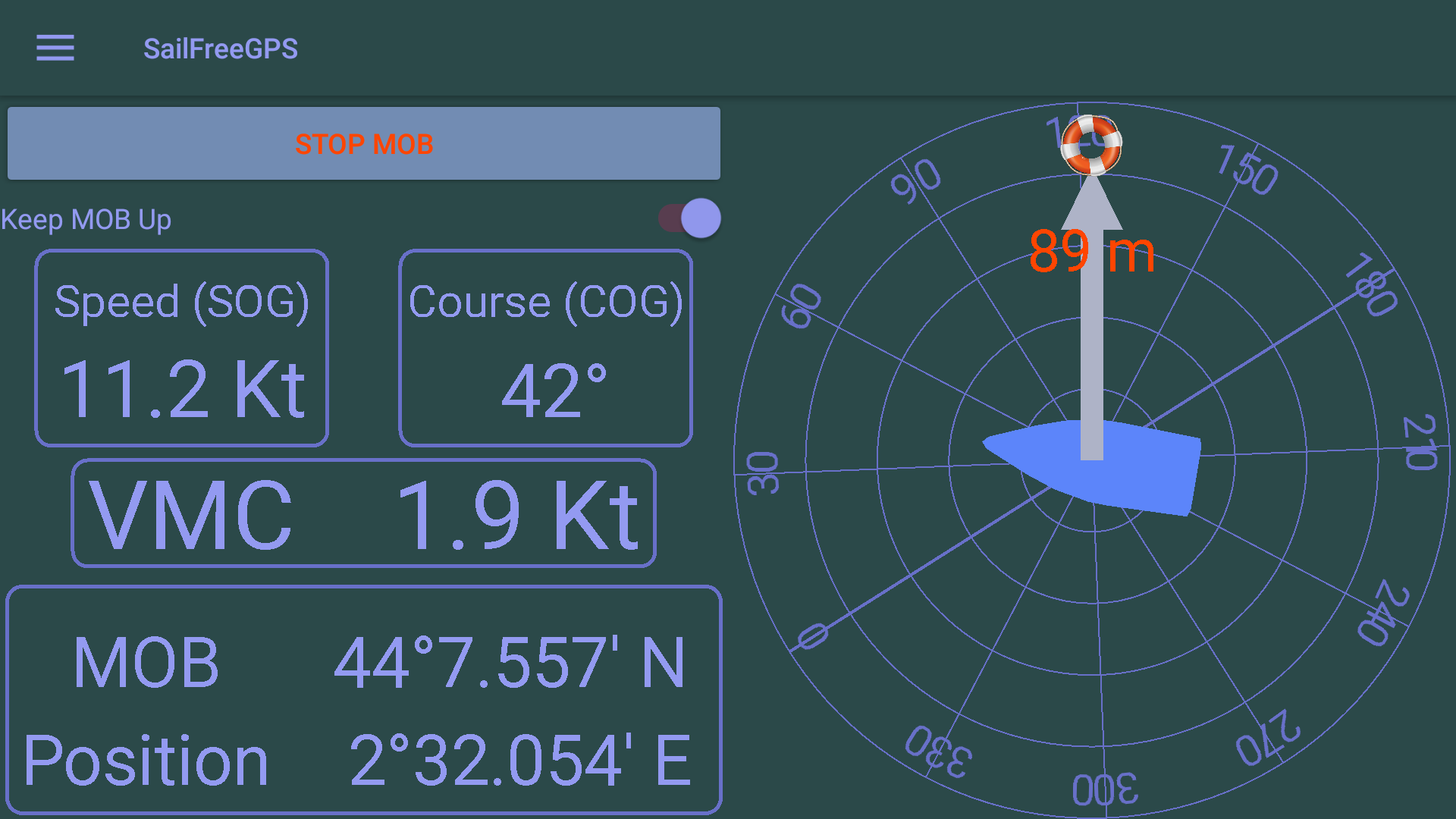New Android Sailing App : SailFreeGPS-screenshot_l6.png